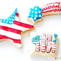 Decorated Cookies! Happy 4th of July everyone!!I made some sugar cookies for you, grab your fave here: http://cutesimplestuff.blogspot.mx/2013/07/4th-of-july-...