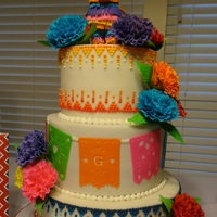 Cake For A Friends Fiesta Theme Couples Shower Inspired By The Wicked Goodies Fiesta Cake Gumpaste Carnations And Fondant Pinata Topper Cake for a friends fiesta theme couples shower. Inspired by the Wicked Goodies fiesta cake. Gumpaste carnations and fondant pinata topper...