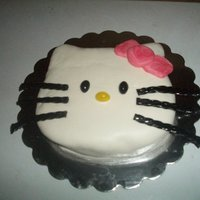 Hello Kitty Hand Carved 3D Cake Hello Kitty Hand carved 3D cake