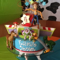 Caribbean Cakes Creations   Toy Story Cute Cake !