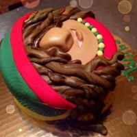 Caribbean Cakes Creations   Little Rasta Man Cake!