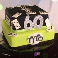 Caribbean Cakes Creations Domino Madness Cake !
