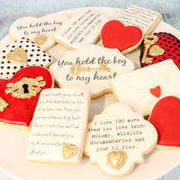 Queen Of Hearts Cookies 1 Of 1