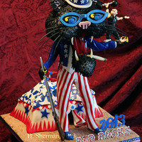 "4Th Of Juy Carnival At Red Rocks With Blues Traveler The 4th of July with Blues Traveler at Red Rocks is truly a Carnival! Here is the cake I took them this year - may I present ""Cat&quot..."