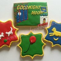 Goodnight Moon! sugar cookies with royal icing