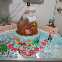 Jack And The Never Land Pirates Birthday Cake