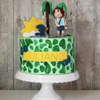 Diego Theme Birthday Cake