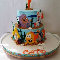 Bubble Guppies Cake Bubble Guppies Cake