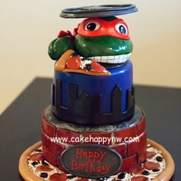 Teenage Mutant Ninja Turtles Cake Loved making this TMNT Cake for a little girl who is obsessed with them!