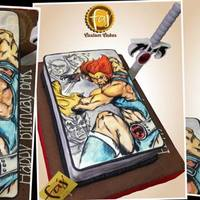 Thundercats #THUNDERCATS! And that's #Lion-O right there. Most of you might not know these #superheroes but back then they rule. #themecakes #...