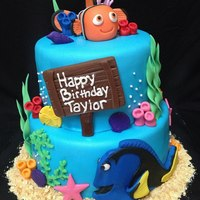 Finding Nemo Birthday Cake   *Finding Nemo Birthday Cake