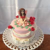 Rose Fairy Cake I've had a heck of a time with figure modeling, and decided it was finally time to learn how to do it. Faces particularly were what...