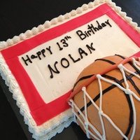Basketball Amp Backboard The Backboard Is A Chocolate Cake The Basketball Is A Peanut Butter Cake With Peanut Butter Frosting And Jelly  Basketball & backboard. The backboard is a chocolate cake, the basketball is a peanut butter cake with peanut butter frosting and jelly...