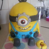 My Minion Made For My Daughters 6Th Birthday My Minion made for my daughters 6th birthday