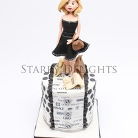 Fashionista- One Designer Cake Fashion cake for my lovely neighbour' birthday :)