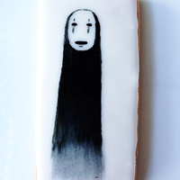 "Im Making A Different Cookie Every Day To Prepare For Halloween Today One Of My Favorites Spirited Aways No Face Hes Hand Painted Wi I'm making a different cookie every day to prepare for Halloween! Today one of my favorites: Spirited Away's ""No Face.&quot..."