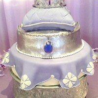 Sofia The First Cake For A Babys First Birthday All 3 Tears Are Vanilla Sponge With Guava Buttercream Filling Sofia the First cake for a baby's first birthday. All 3 tears are vanilla sponge with guava buttercream filling.