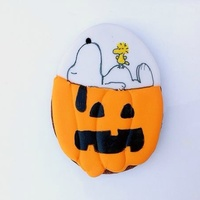 Its The Great Pumpkin Charlie Brown Snoopy Woodstock And Pumpkin Face Are Handpainted With A Combination Of Edible Markers And Food Co It's the great pumpkin, Charlie Brown! Snoopy, Woodstock, and pumpkin face are handpainted with a combination of edible markers and...