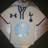 Tottenham Hotspur Cake Come On You Spurs!!
