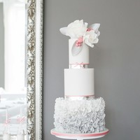Wedding Cake Silver/rose Hope you like it! Thanks, Uta