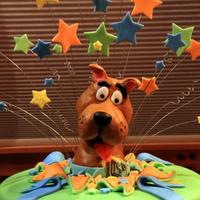 Scooby Doo Birthday Cake! *Final product of Scooby Doo birthday cake.
