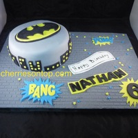 Batman Cake for Batman theme birthday party