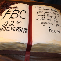 Church Anniversary Picnic Cake