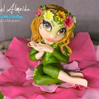 "A Cake For Maria An Aerial Acrobat Girl In Her Character Flower Of The Show Terraearth By Armazem Aerioall Done With Sugarpastehop A cake for Maria, an aerial acrobat girl in her character ""Flower"" of the show ""Terra/Earth"" by..."