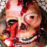 This Was My Creation For This Halloween Zombie Head Cake Sweet Dead Or Alive P Tutorial Very Soon Thks Kisshug Michael Almeida This was my creation for this halloween.Zombie head cake, sweet dead or alive :pTutorial very SOON :) Thks,Kiss/Hug Michael Almeida