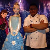 Elsa Princess -Frozen Cake All Made By Me (Hector Rocha)