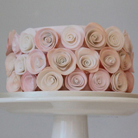 Stylised Pink Roses   Stylised pink roses