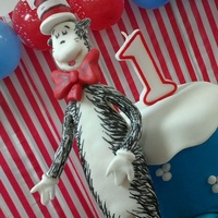 Cat In The Hat From Fondant   Cat in the Hat from fondant
