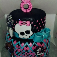 My Newest Monster High Cake
