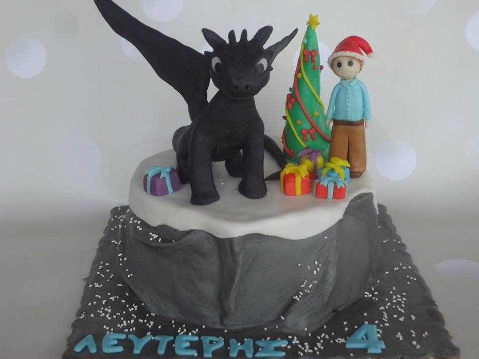 Toothless Dragon In Christmas Time Toothless dragon in Christmas time!!!!