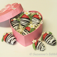 Chocolate Dipped Strawberry Cake Bites Xx Chocolate dipped strawberry cake bites xx