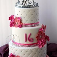 Sweet 16Th A Sweet 16th Birthday Cake for a Princess!