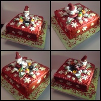 Christmas Cakes My first novelty Christmas cake completed yesterday
