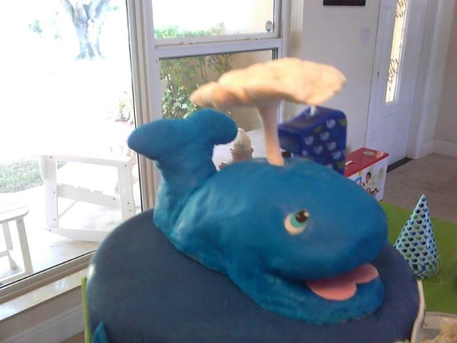Whale Cake Topper Whale Cake Topper