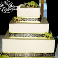 Aspen Hall Wedding Cake Green Coastal
