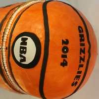 Basketball Cake Basketball Cake for special boy or girl