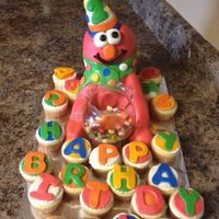 Please Critique This Is My 2Nd Sculpted Mm Fondant Cake Elmo Is A 6 Layer Yellow Cake With Cream Cheese Icing This Was Extremely Difficu  Please critique. This is my 2nd sculpted, mm fondant cake. Elmo is a 6 layer yellow cake with cream cheese icing. This was Extremely...