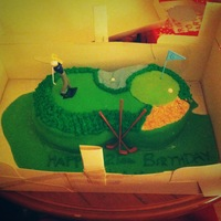 I Made This Cake For My Brothers 21St Birthday After Being Unsure For Some Time About What To Make I Came Across A Golfing Cake On Google A... I made this cake for my brothers 21st birthday. After being unsure for some time about what to make I came across a golfing cake on google...