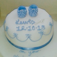 Christening Cake Christening Cake Baby Blue for Baby Boy