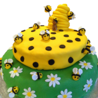 Bumblebee Baby Shower Cake Bumblebee Baby Shower Cake