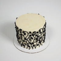 "4 Buttercream Vine Cake 4"" buttercream vine cake"