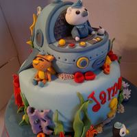 Octonauts For James *I little Octonauts inspired cake. x Hope you like !
