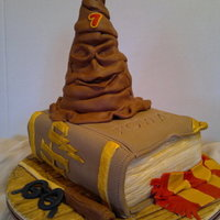 Harry Potter For Rowan  I've made this cake for my son's friend's birthday. She wanted Harry Potter, so I've tried to incorporate all the...