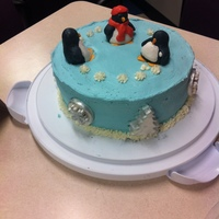 This Was My January Cake For My Co Workers Anniversaries And Birthdays I Got The Idea From A Pinterest Post Of A Simialr Cake This was my January cake for my co-workers anniversaries and birthdays. I got the idea from a pinterest post of a simialr cake.