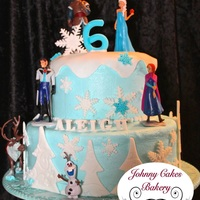 Frozen Birthday Cake Bottom Wasc Frozen Birthday Cake Bottom WASC
