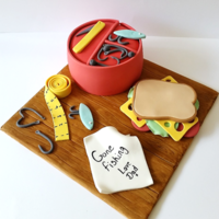 Fishing Inspired Cake For My Own Wonderful Dad The Cake Is Actually A Traditional British Christmas Cake His Fav Which Is Shaped To Look Fishing inspired cake for my own wonderful Dad. The cake is actually a traditional British Christmas cake (his fav) which is shaped to look...